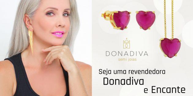 Como revender semi joias Donadiva? Seja uma revendedora.